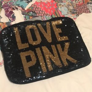 Victoria's Secret Love Pink Laptop Case